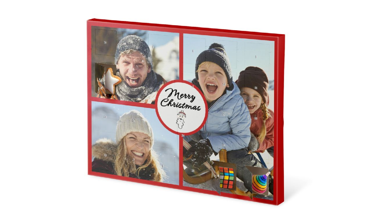 Custom-fillable advent calendar