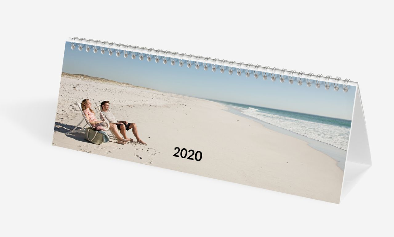 Panoramic Desktop Calendar